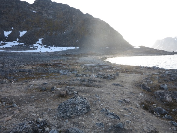 virgohamna beach